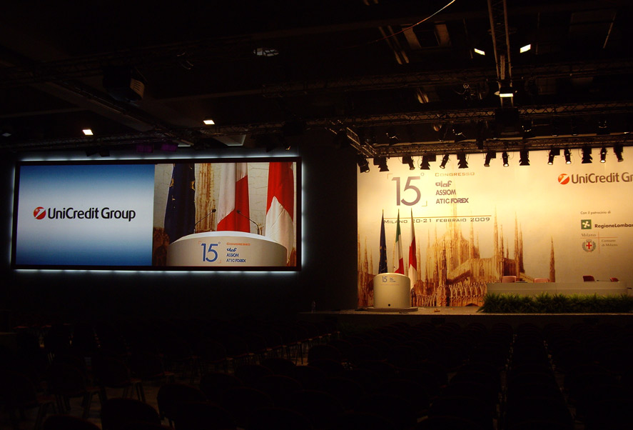 Unicredit Convention - Foto d'archivio